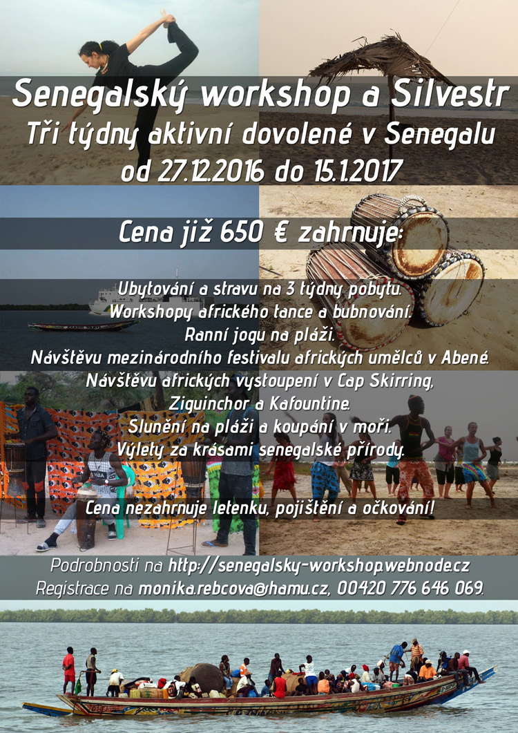 Senegalský workshop a Silvestr 2016/2017